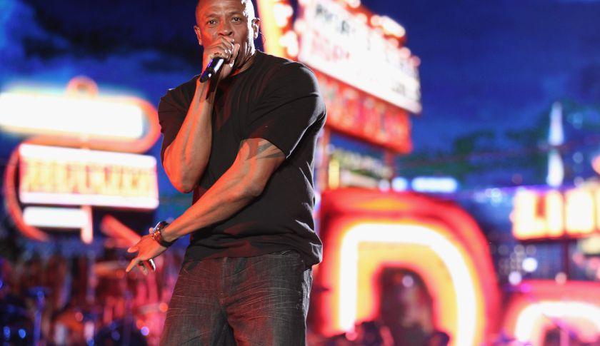Rapper Dr. Dre.