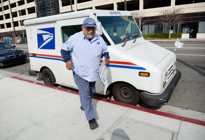 A U.S. Postal Service employee.