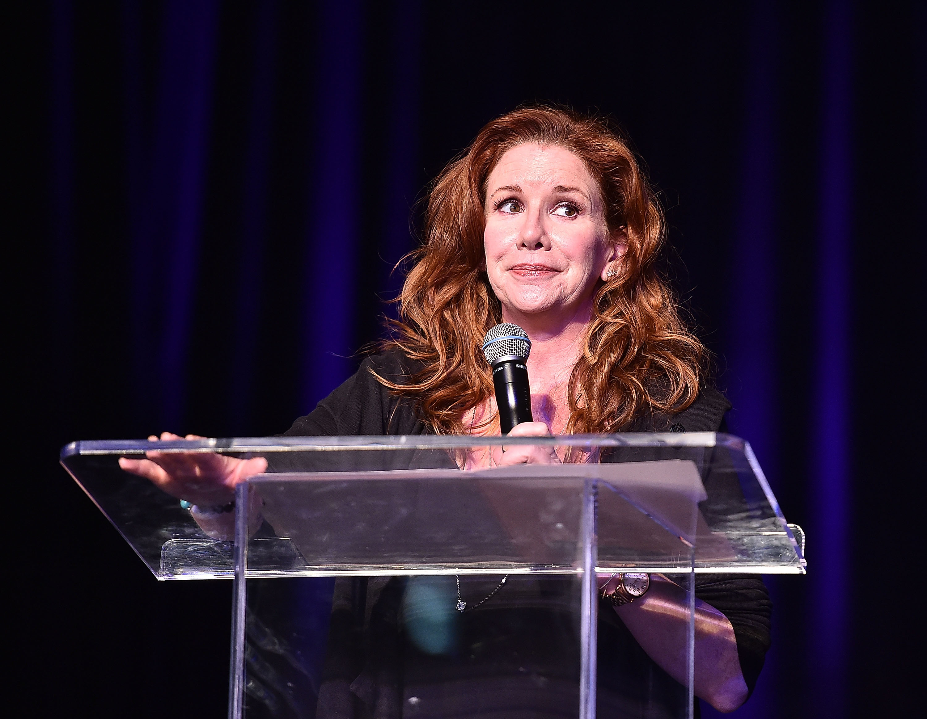 Melissa Gilbert onstage at the Atlanta Ultimate Women's Expo on May 3, 2015.
