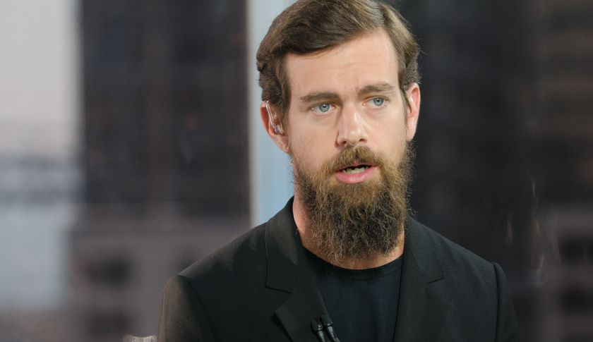 Jack Dorsey, co-founder and interim CEO of Twitter and founder and CEO of Square.