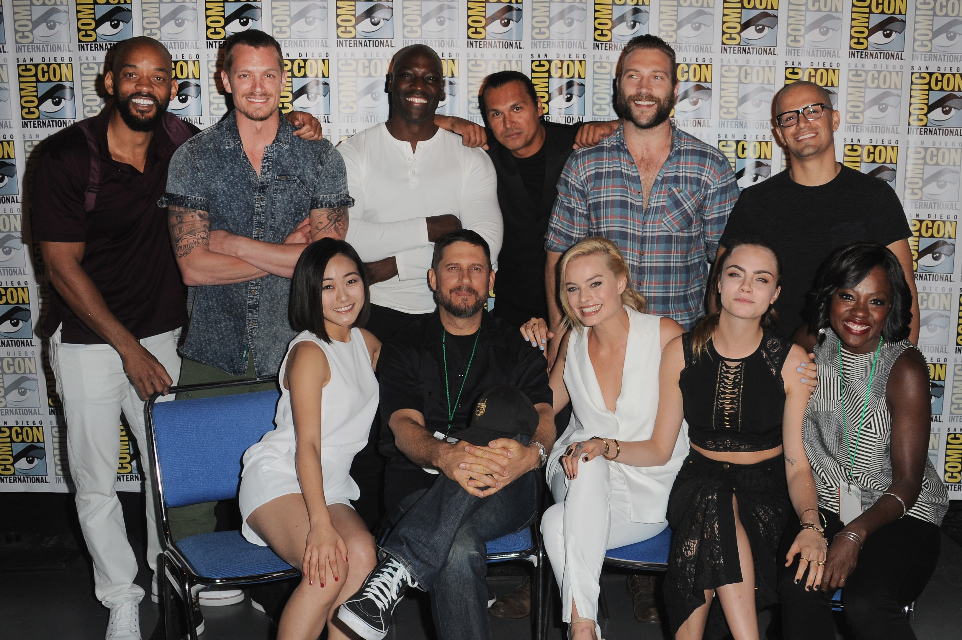 'Suicide Squad' presentation during Comic-Con International 2015 in San Diego, Calif. on July 11, 2015.