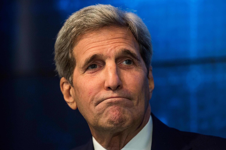 Secretary of State John Kerry in New York City on Aug. 11, 2015.