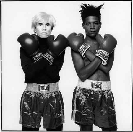 Andy Warhol and Jean-Michel Basquiat #143. New York, July 10, 1985.