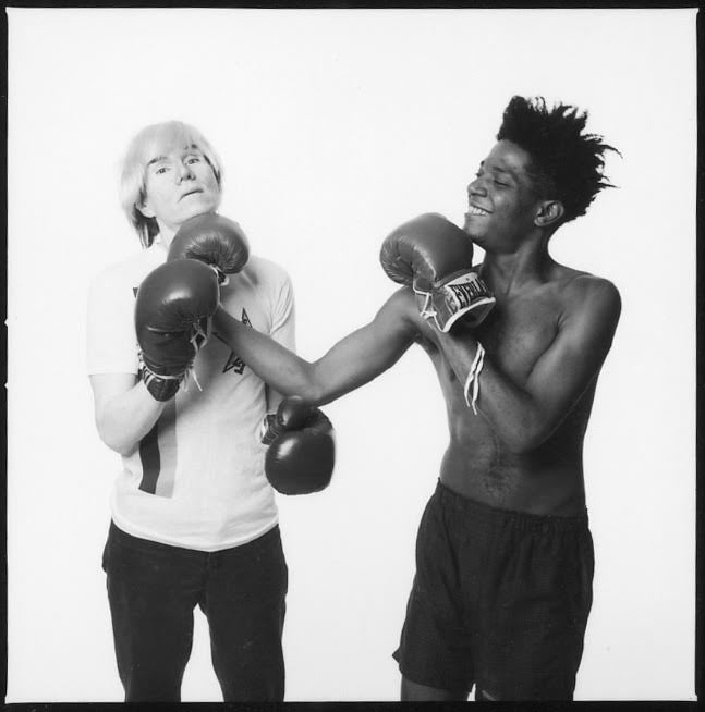 Andy Warhol and Jean-Michel Basquiat #133. New York, July 10, 1985.