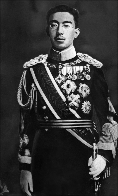 This undated picture taken in Tokyo shows Japanese Emperor Hirohito.