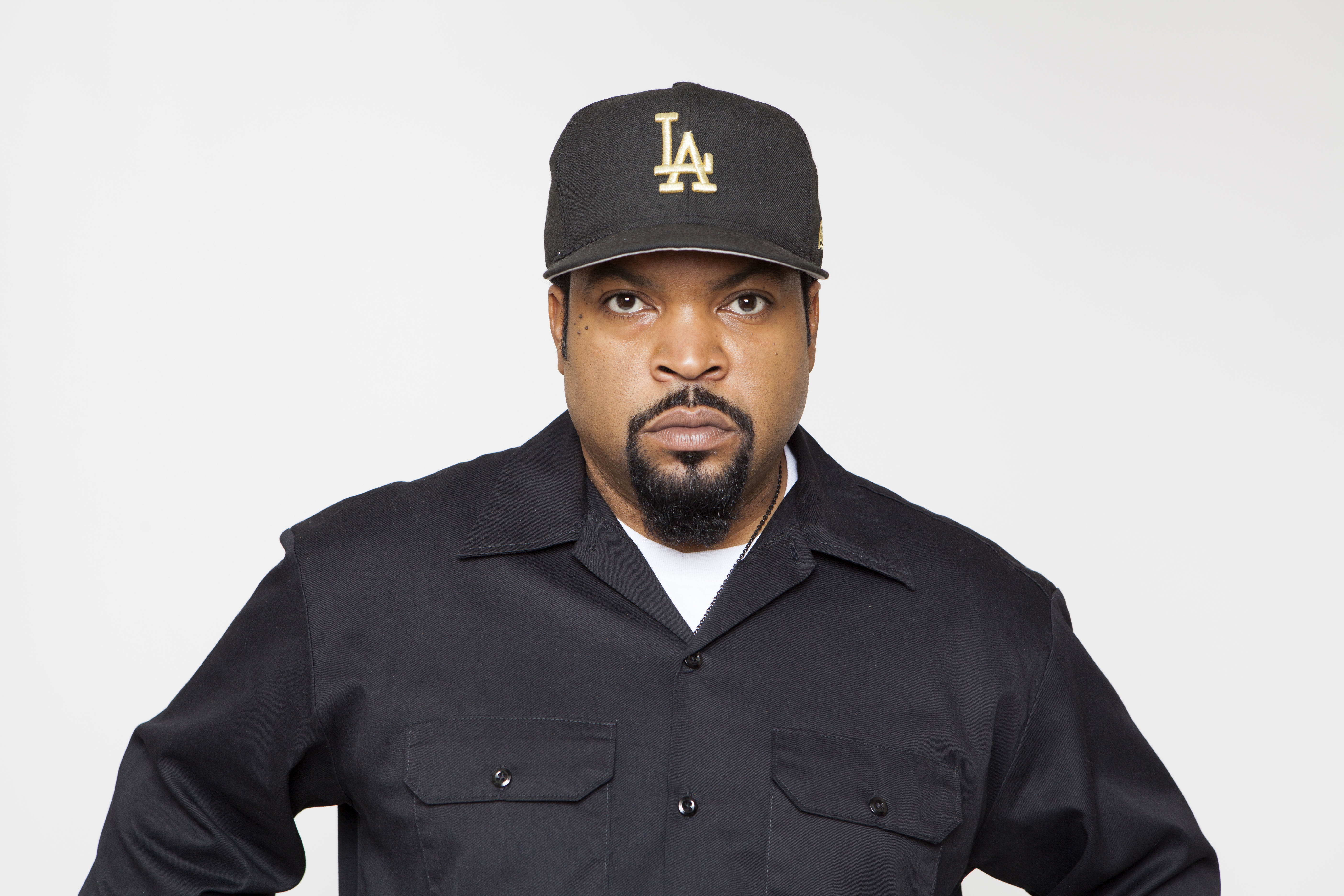 "Ice Cube poses for a portrait in promotion of the new film ""Straight Outta Compton  at the Four Seasons Hotel in Los Angeles on Aug. 2, 2015."
