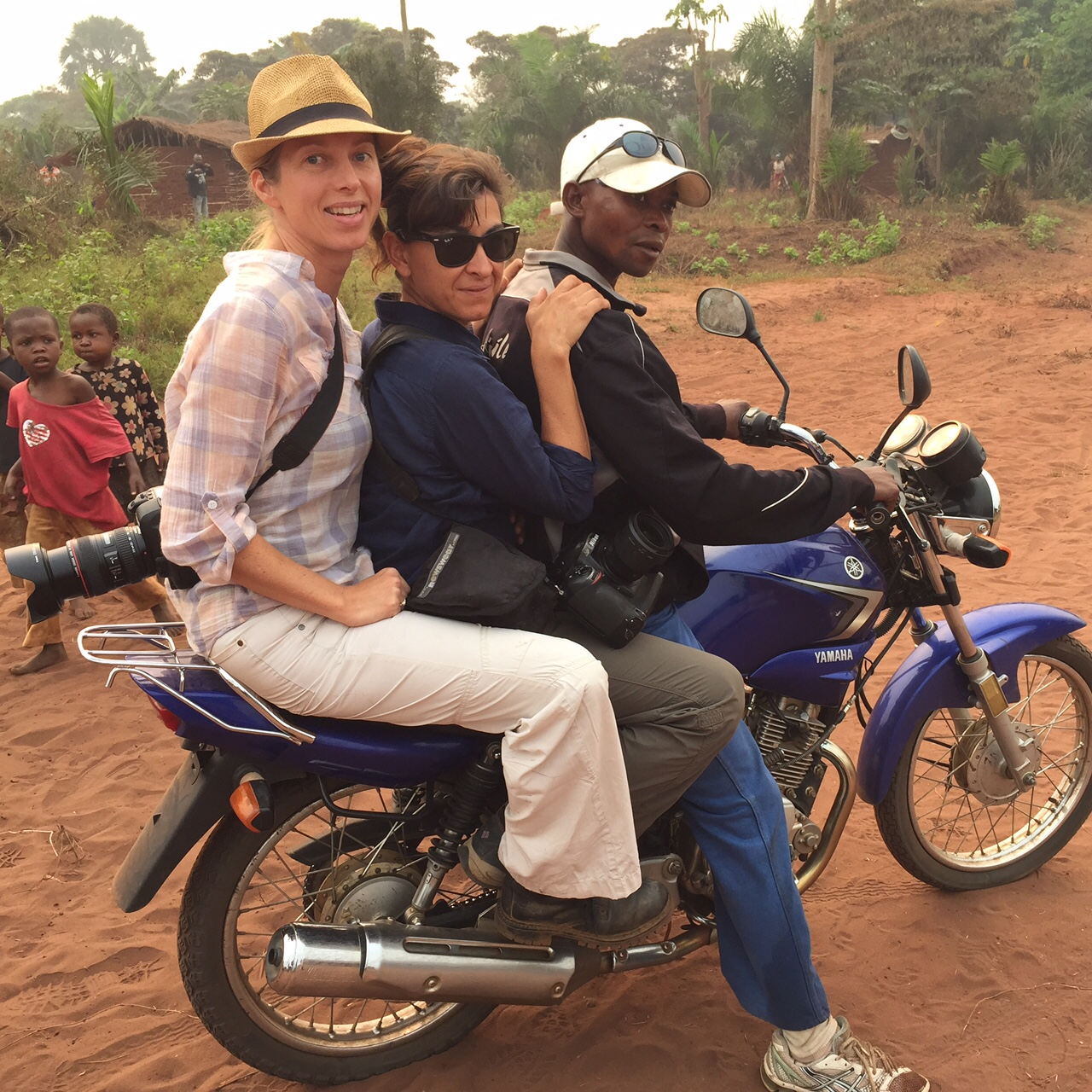 TIME's Africa Bureau Chief Aryn Baker and photographer Lynsey Addario on assignment for TIME in the Democratic Republic of Congo.