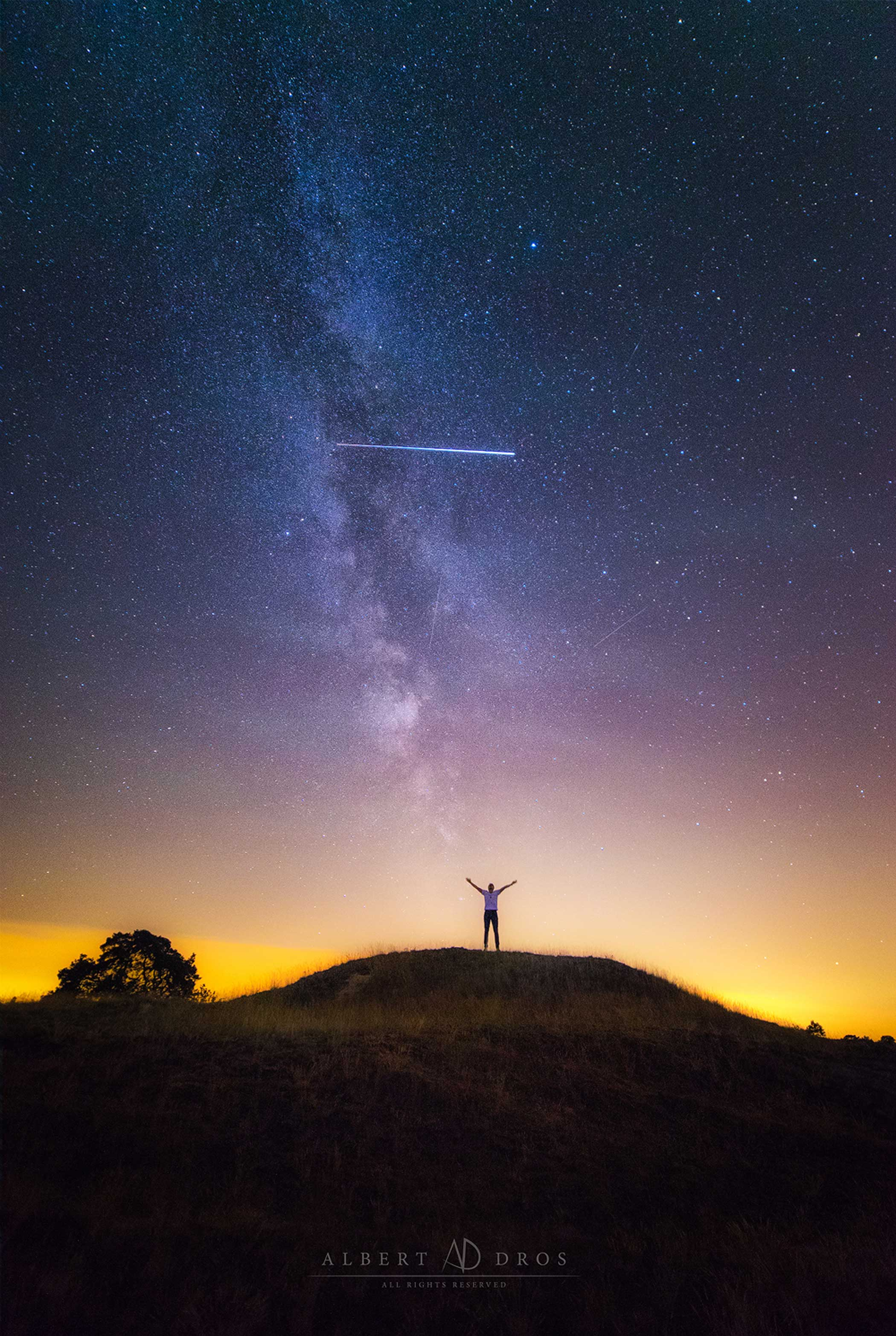 This Guy Got Photobombed by the International Space Station