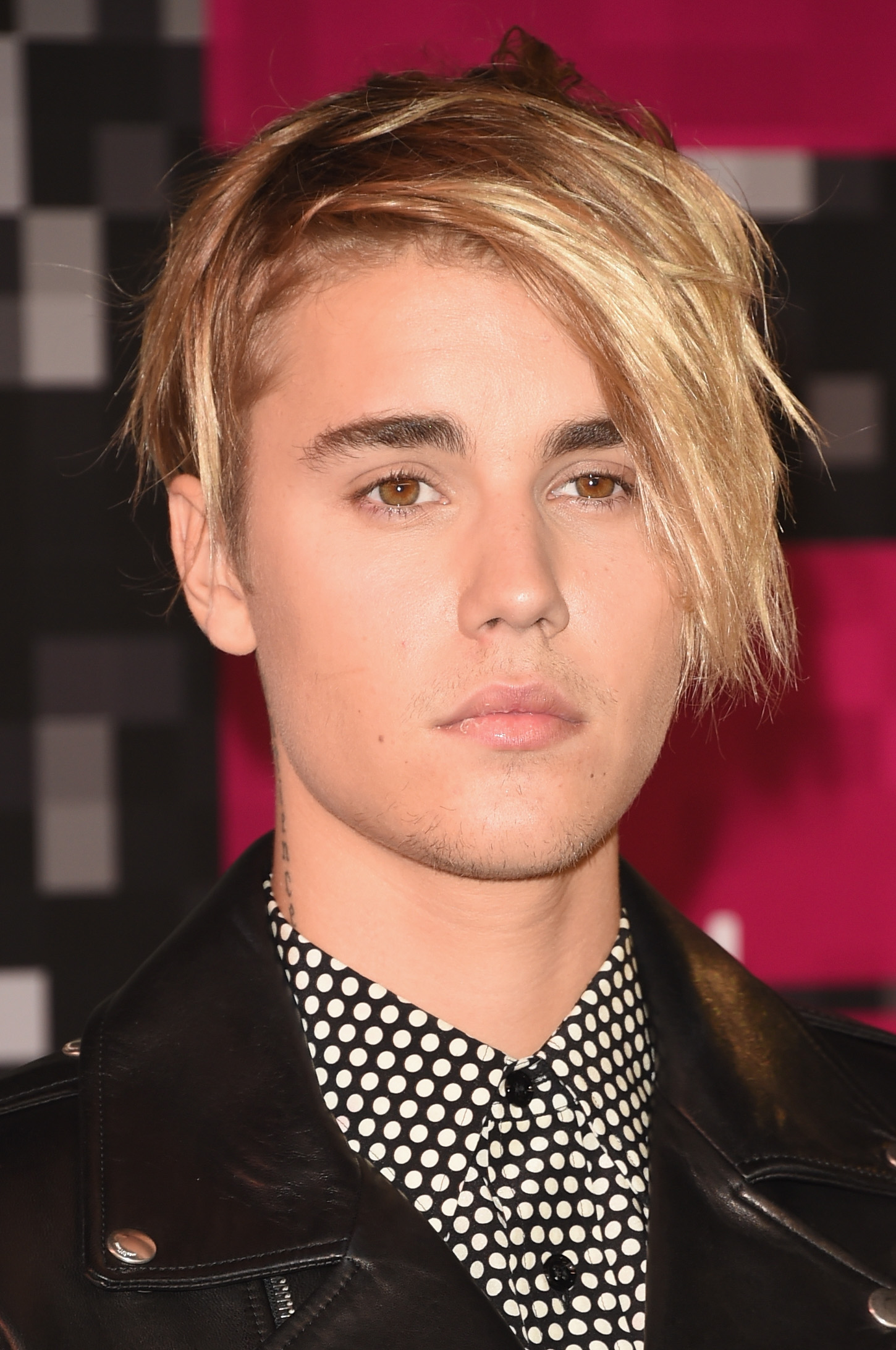 Justin Bieber at the 2015 MTV Video Music Awards in Los Angeles on Aug. 30, 2015.