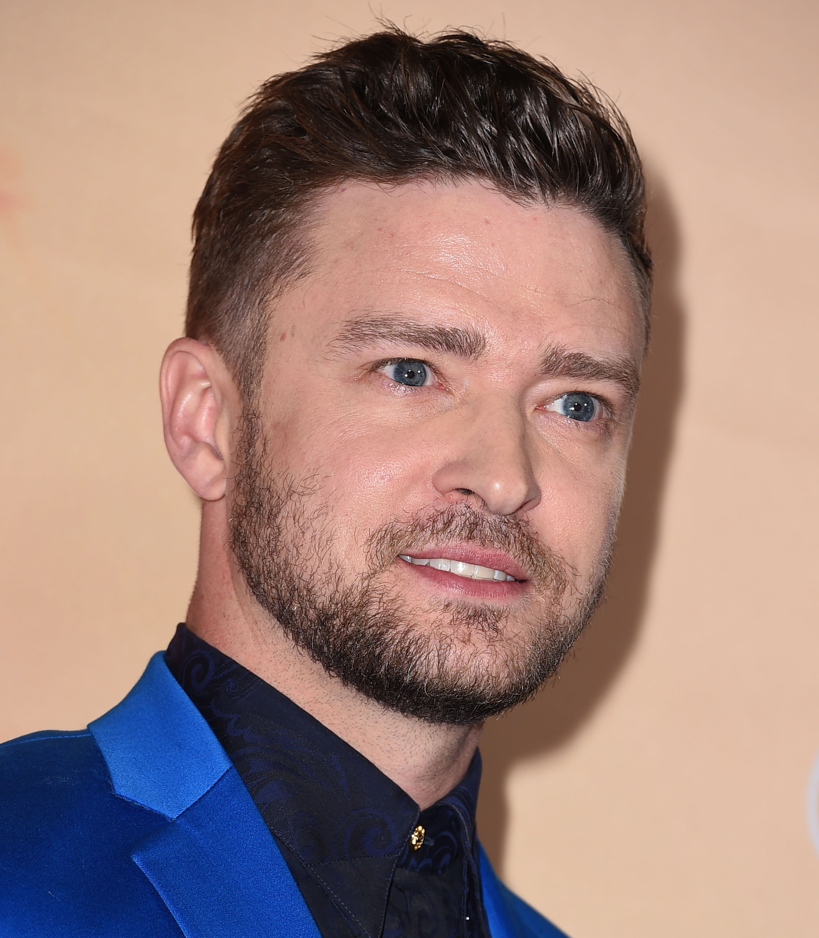 Justin Timberlake at the 2015 iHeartRadio Music Awards in Los Angeles on March 29, 2015.