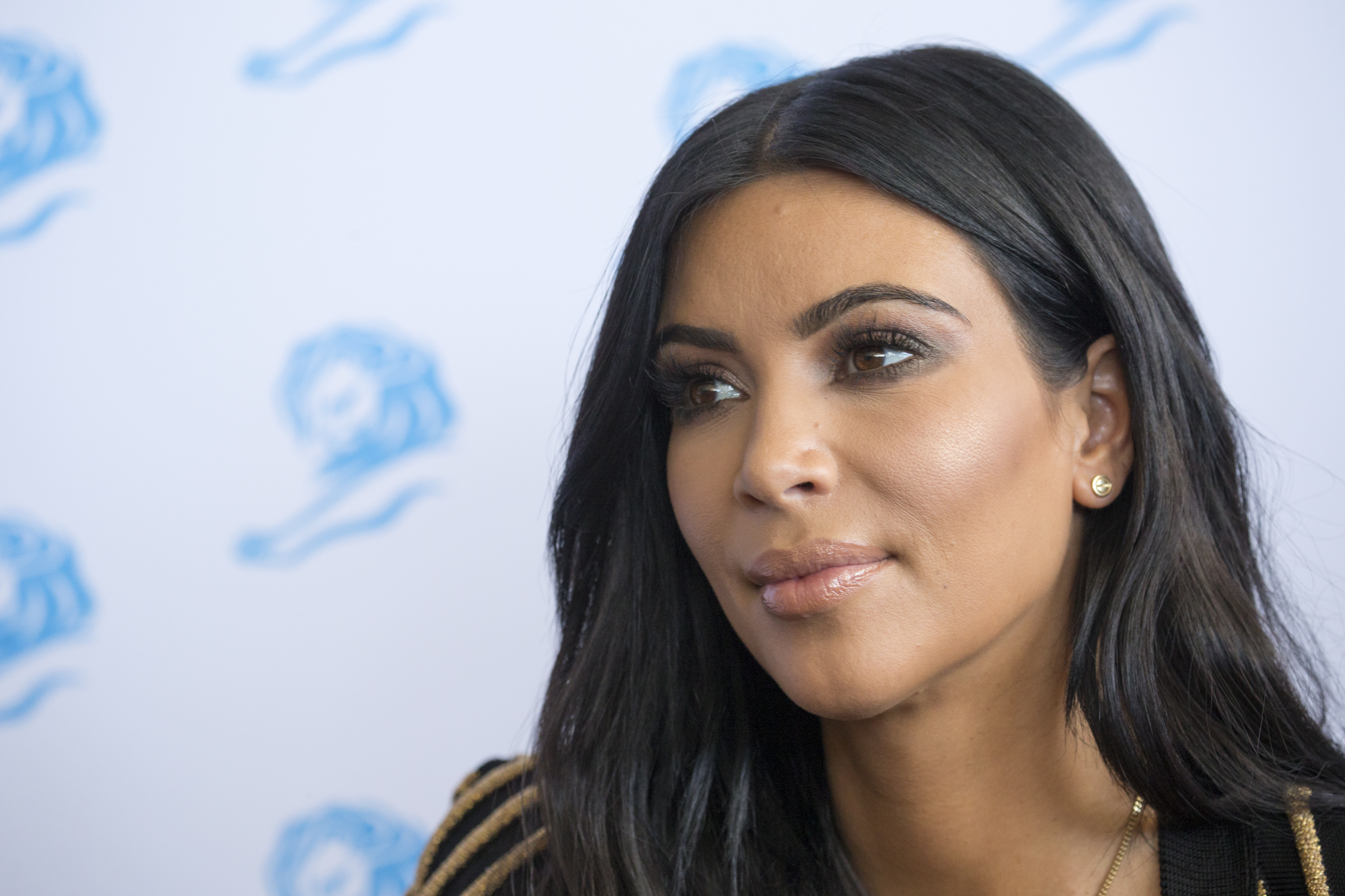 Kim Kardashian West at the Cannes Lions International Festival of Creativity in Cannes, France on June 24, 2015.