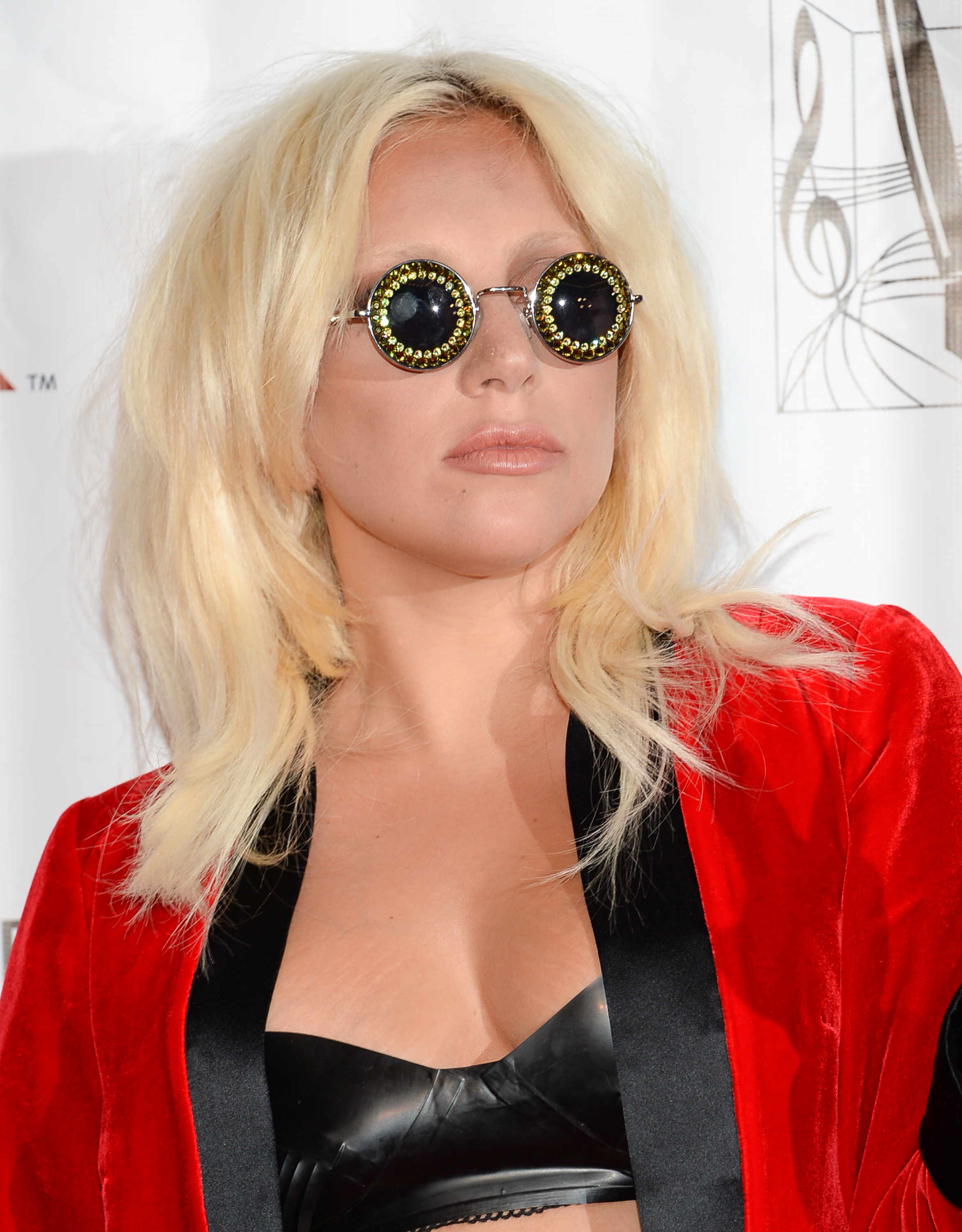 Lady Gaga attends the 46th Annual Songwriters Hall Of Fame Induction and Awards Gala at the Marriott Marquis on June 18, 2015, in New York.