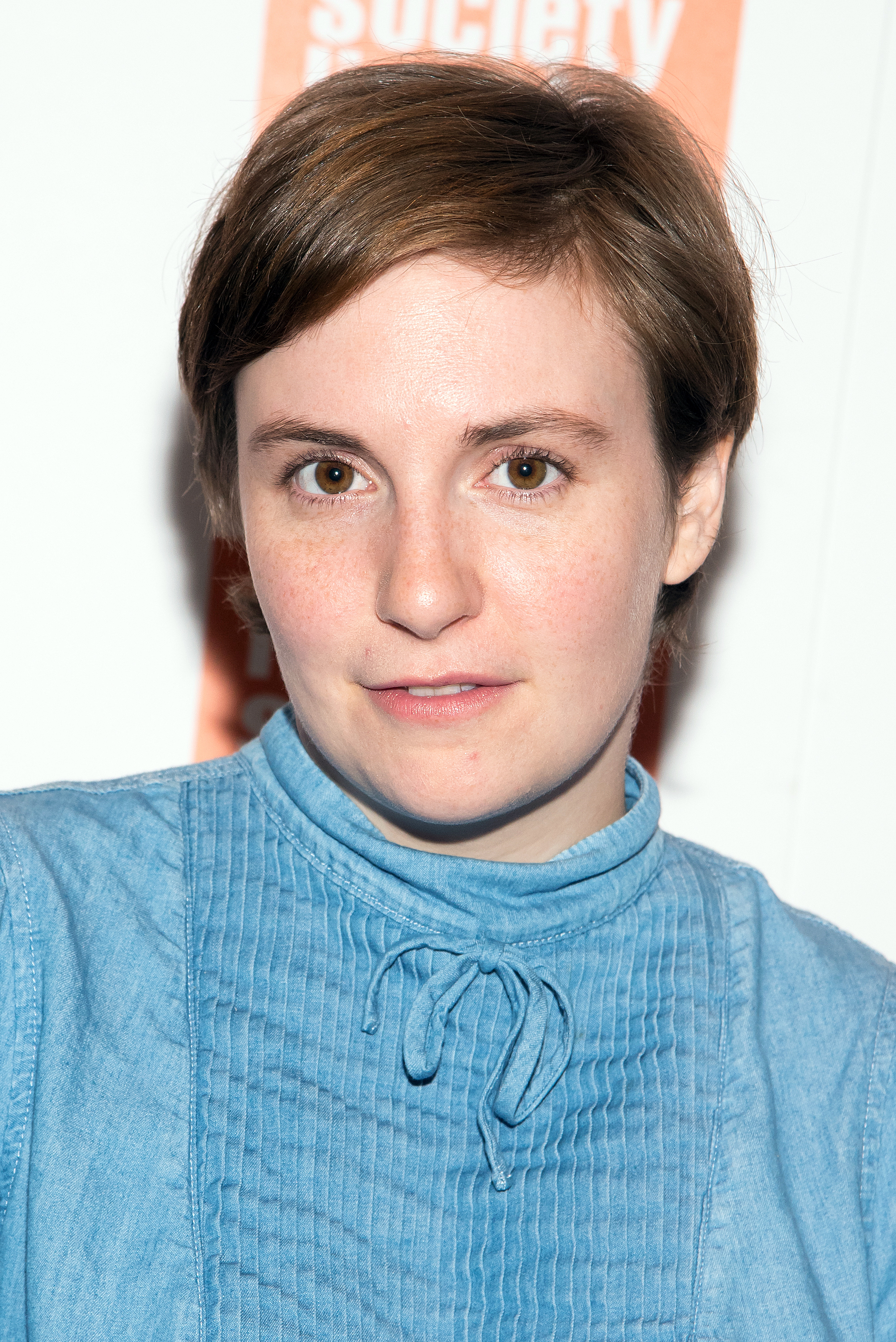 Lena Dunham attends the 2015 Film Society of Lincoln Center Summer Talks with Judd Apatow and Lena Dunham at Walter Reade Theater in New York City on July 13, 2015.