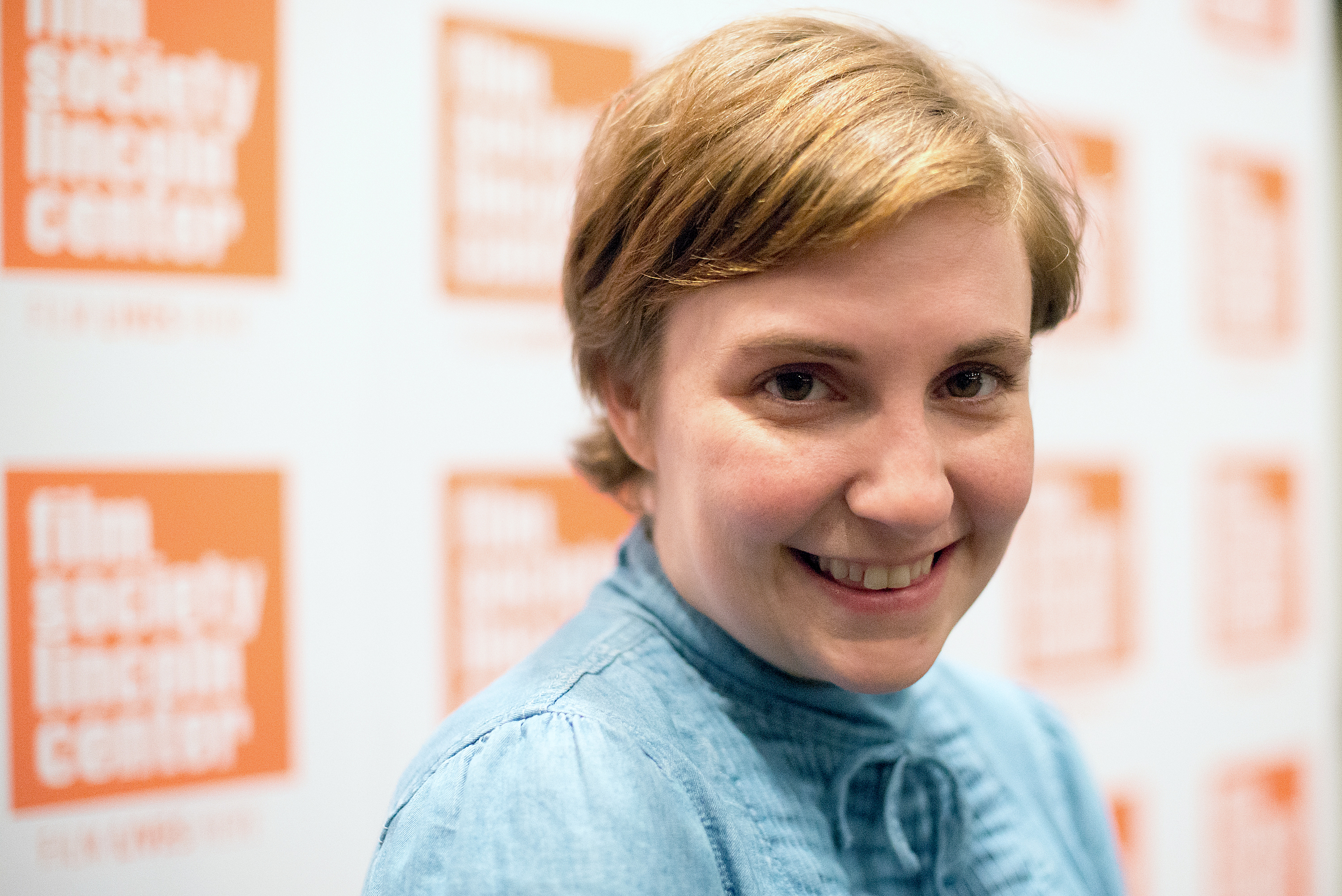 Lena Dunham at the 2015 Film Society of Lincoln Center Summer Talks on July 13, 2015  in New York City.