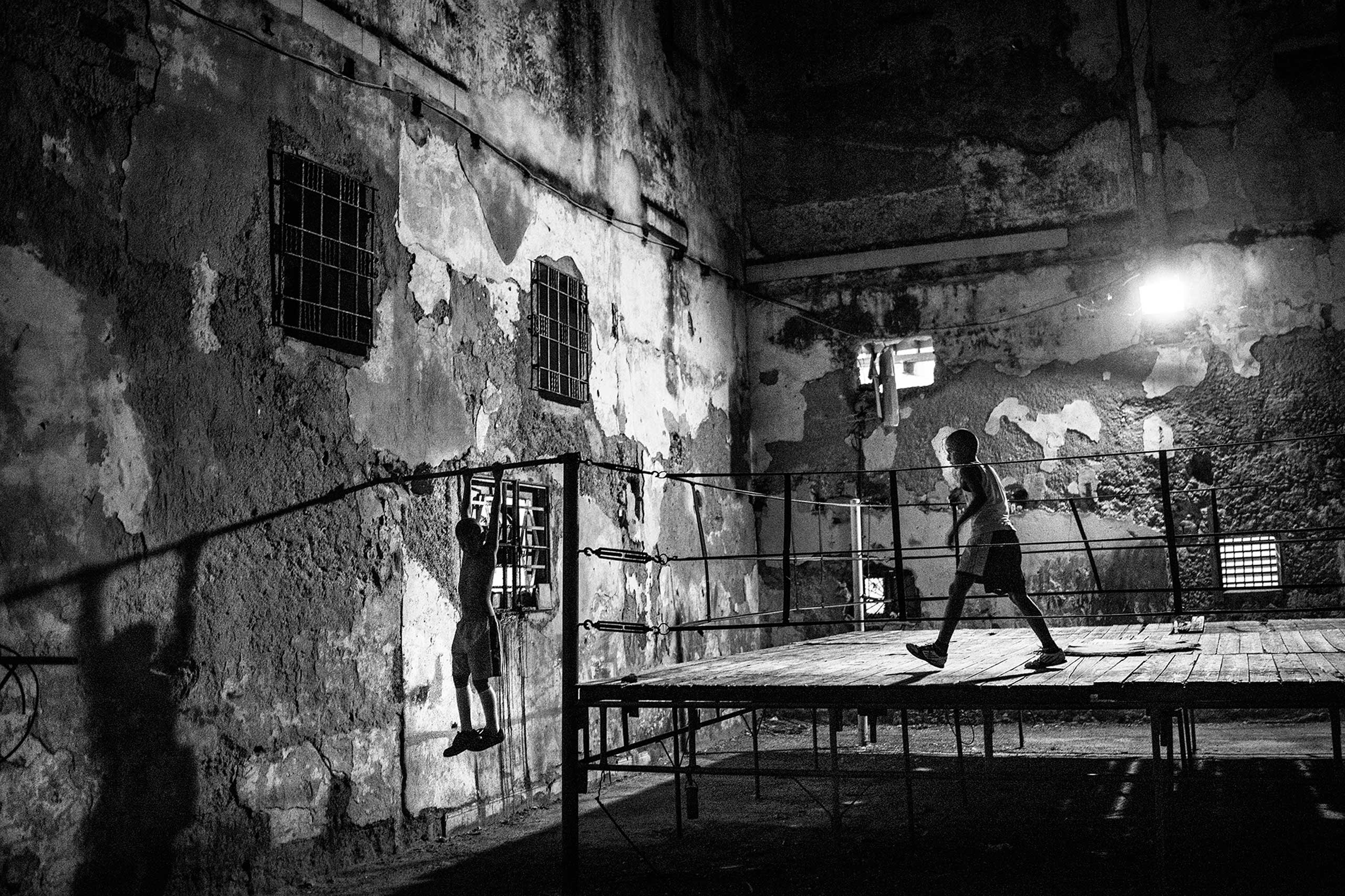 The New Yorker Photo Booth: Youth Culture in CubaA boxing school in downtown Havana. Feb. 2015.