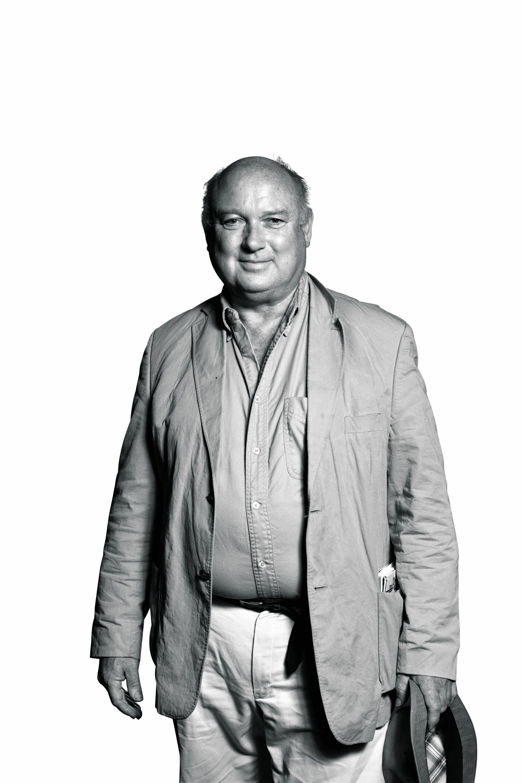 Photograph of author Louis De Bernières.