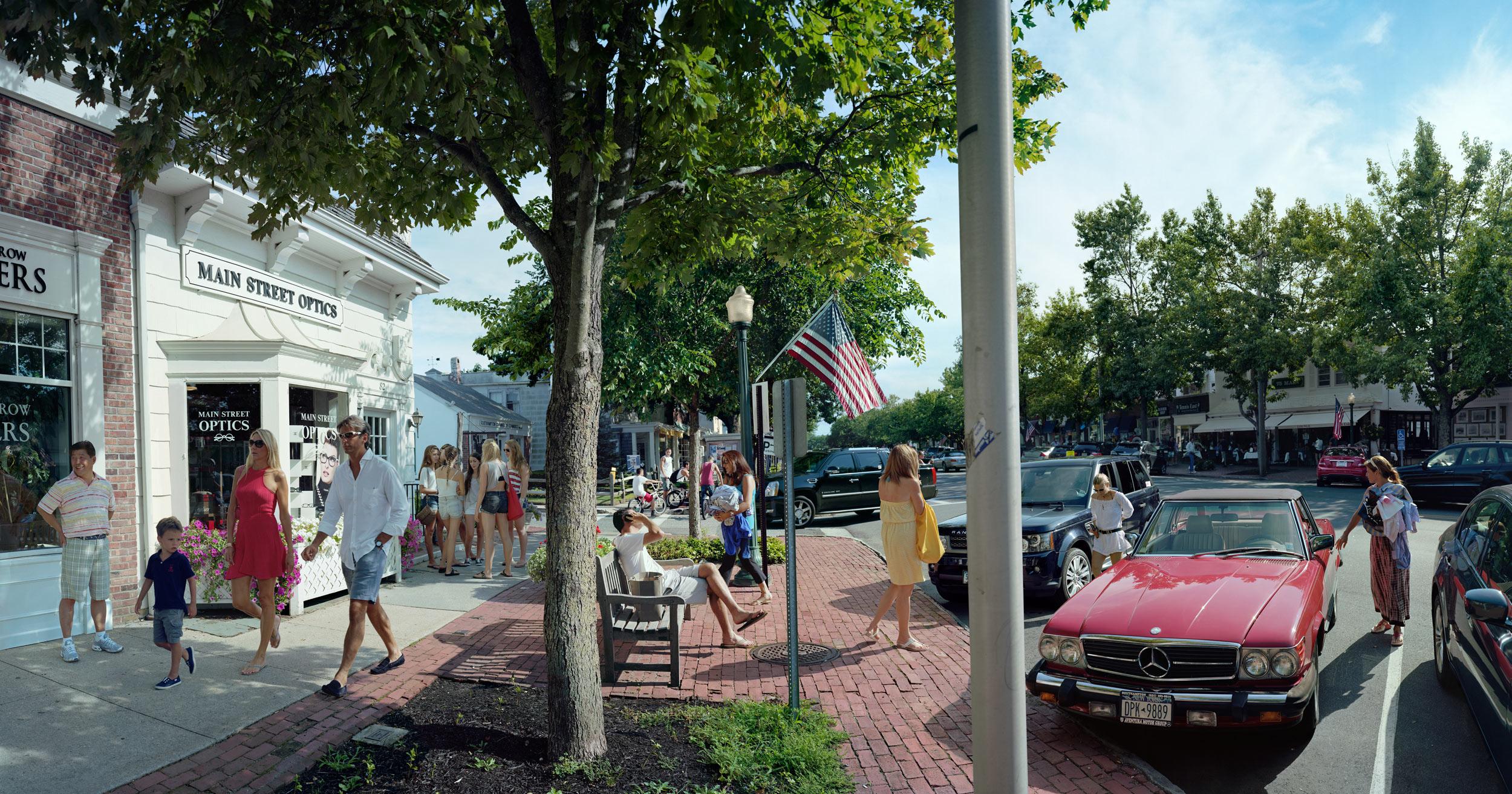 Main Street Optics, Main Street, Southampton, New York.