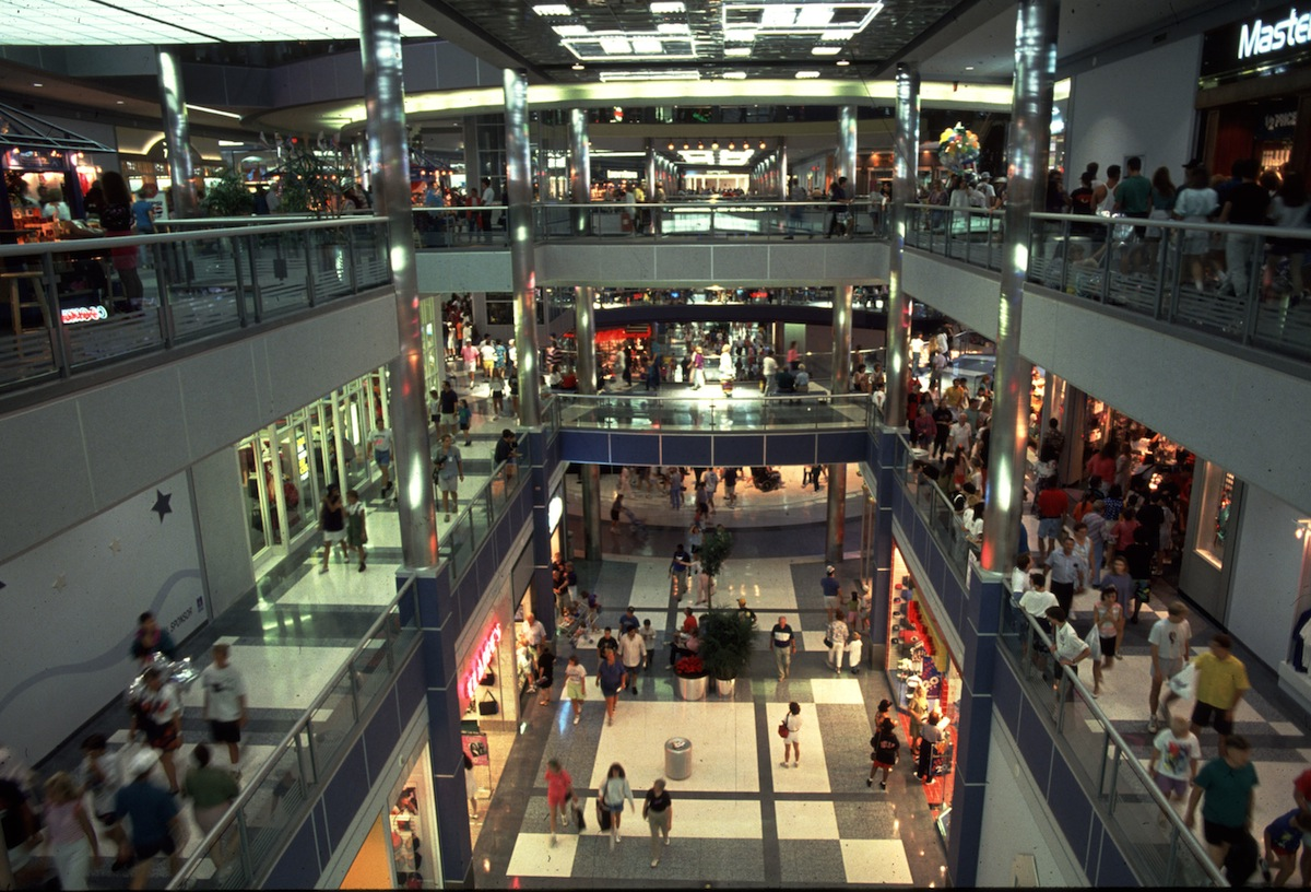 Mall of America on Aug. 12, 1992