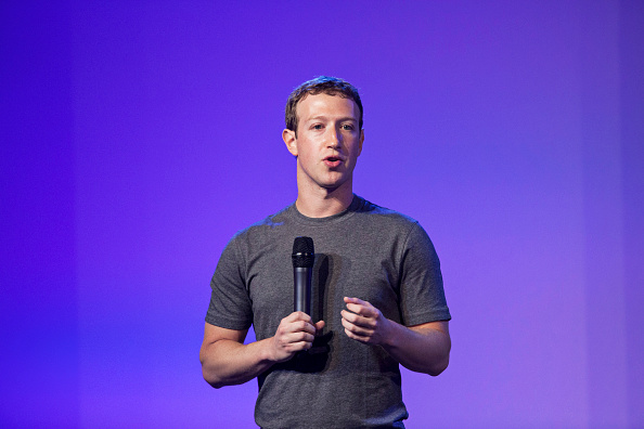 Mark Zuckerberg at the Internet.org summit in New Delhi on Oct. 9, 2014.