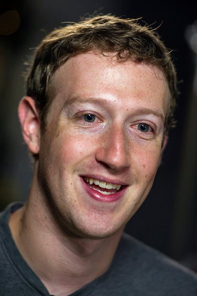 Mark Zuckerberg, co-founder and chief executive officer of Facebook Inc., at a Bloomberg television interview in Menlo Park, Calif. on Dec. 2, 2014.