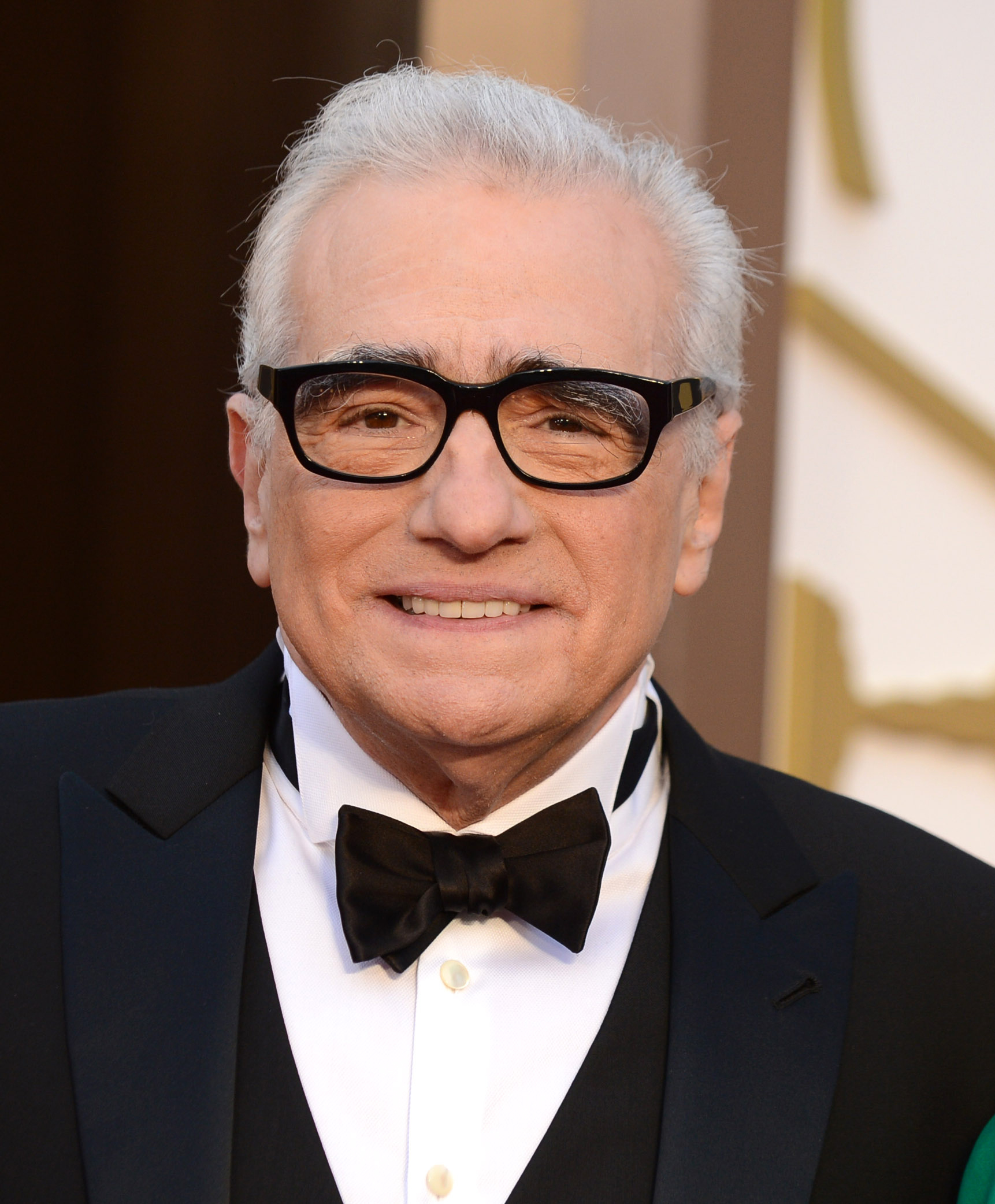 Martin Scorsese arrives at the Oscars on March 2, 2014, at the Dolby Theatre in Los Angeles.