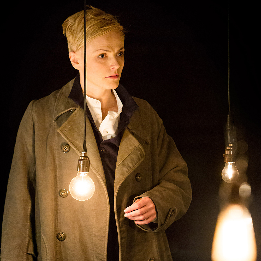 Maxine Peake (2014) The English actress' cross-dressing turn combined snarling anger with agile grace, not to mention androgynous rock-star hair. A box-office smash, Sarah Frankcom's stylish Manchester stage production later was beamed into cinemas. (Read more at The Hollywood Reporter)