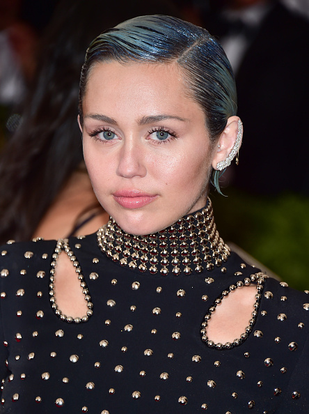 Miley Cyrus at the 'China: Through The Looking Glass' Costume Institute Benefit Gala in New York City on May 4, 2015.