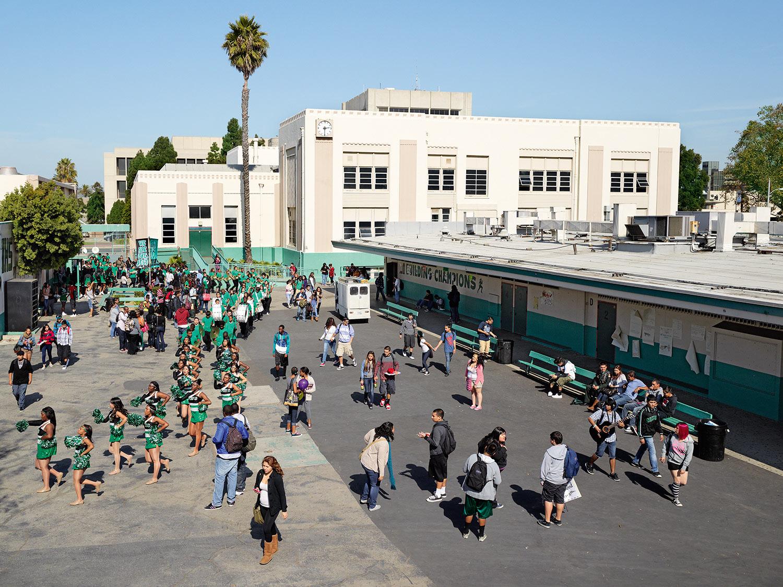 Inglewood High School,                               Inglewood, California.