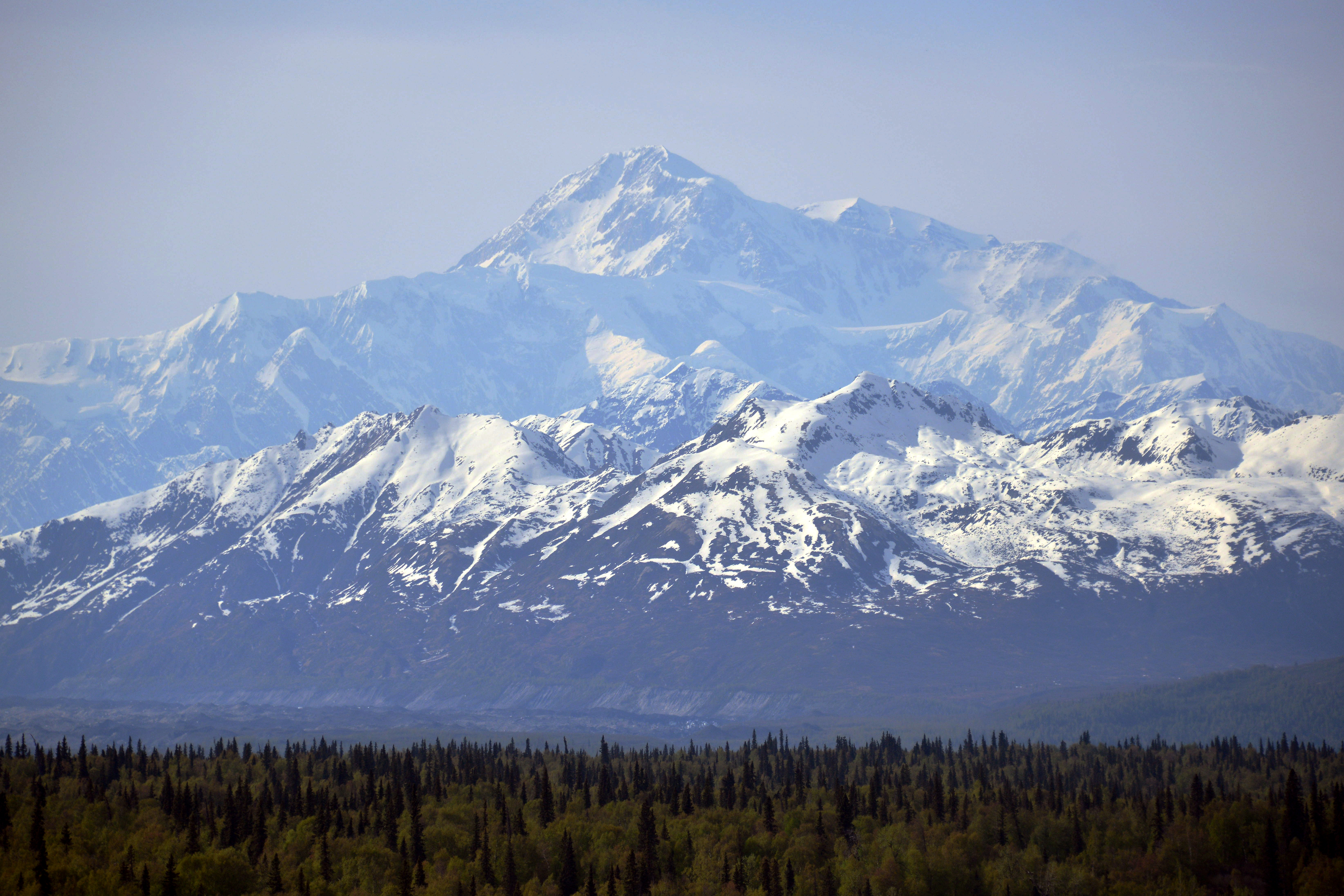 Mt. McKinley on May 15, 2014 in Denali National Park, Alaska.