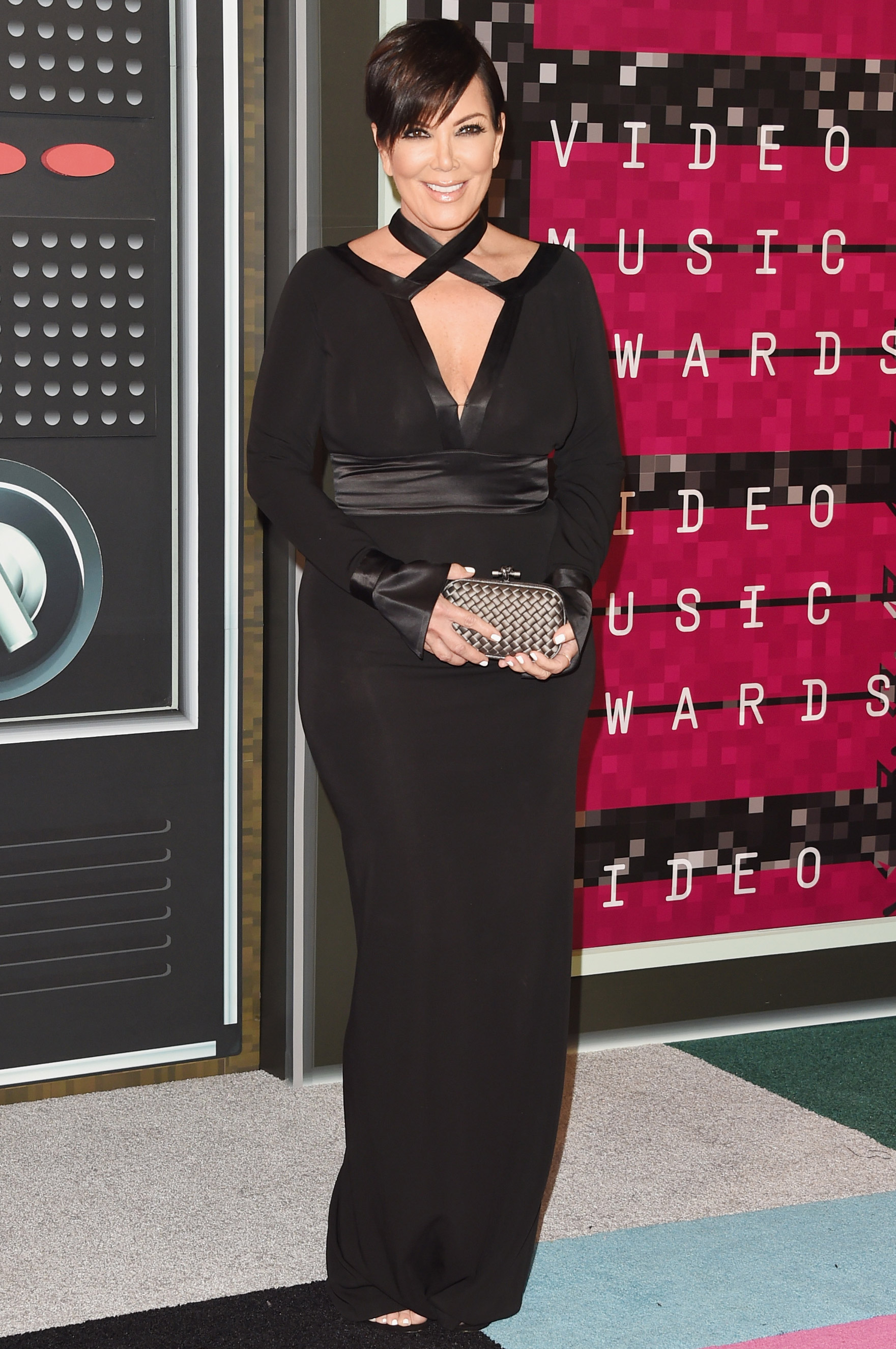 Kris Jenner arrives at the 2015 MTV Video Music Awards at Microsoft Theater on Aug. 30, 2015 in Los Angeles.