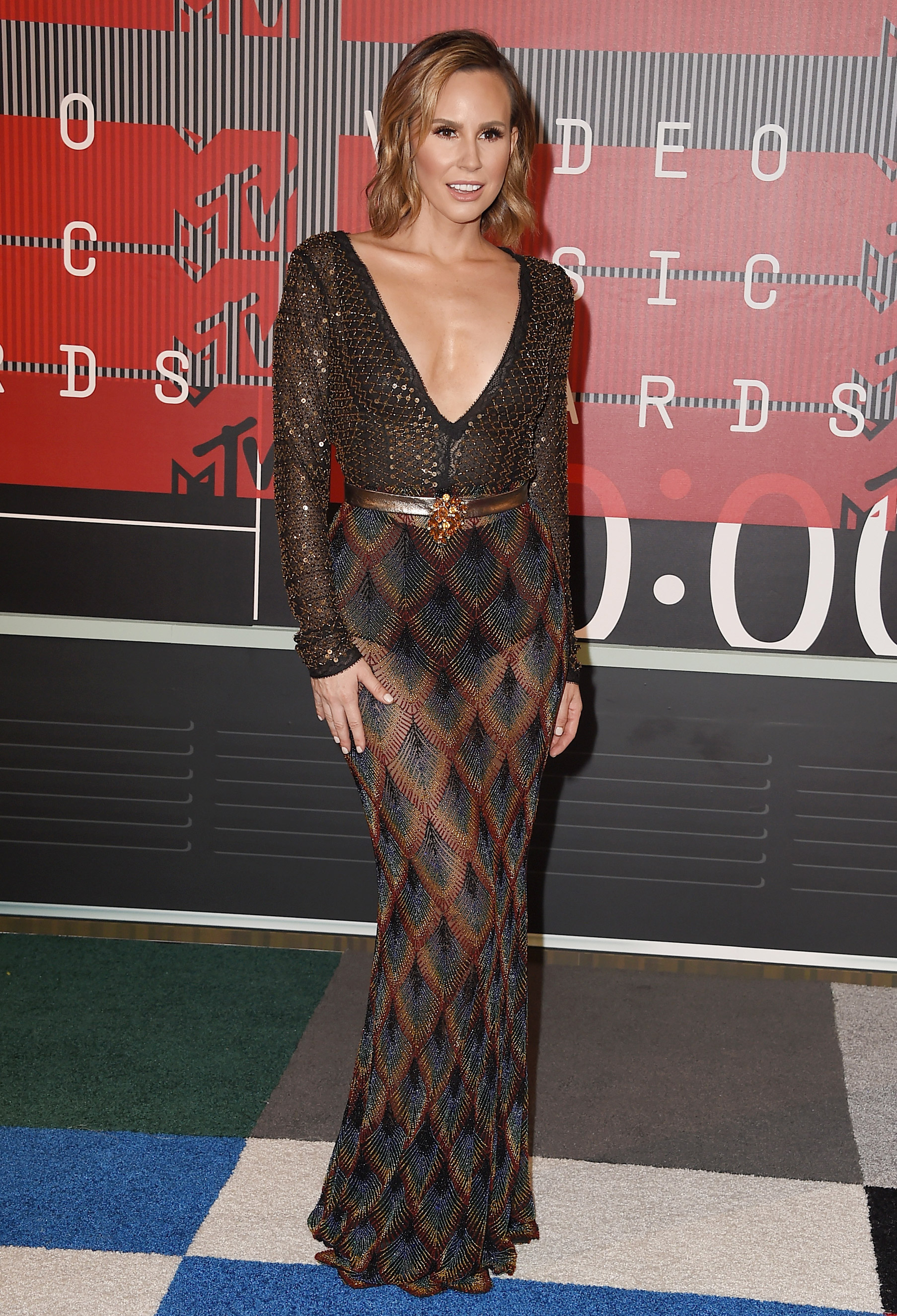 Melissa Rivers arrives at the 2015 MTV Video Music Awards at Microsoft Theater on Aug. 30, 2015 in Los Angeles.