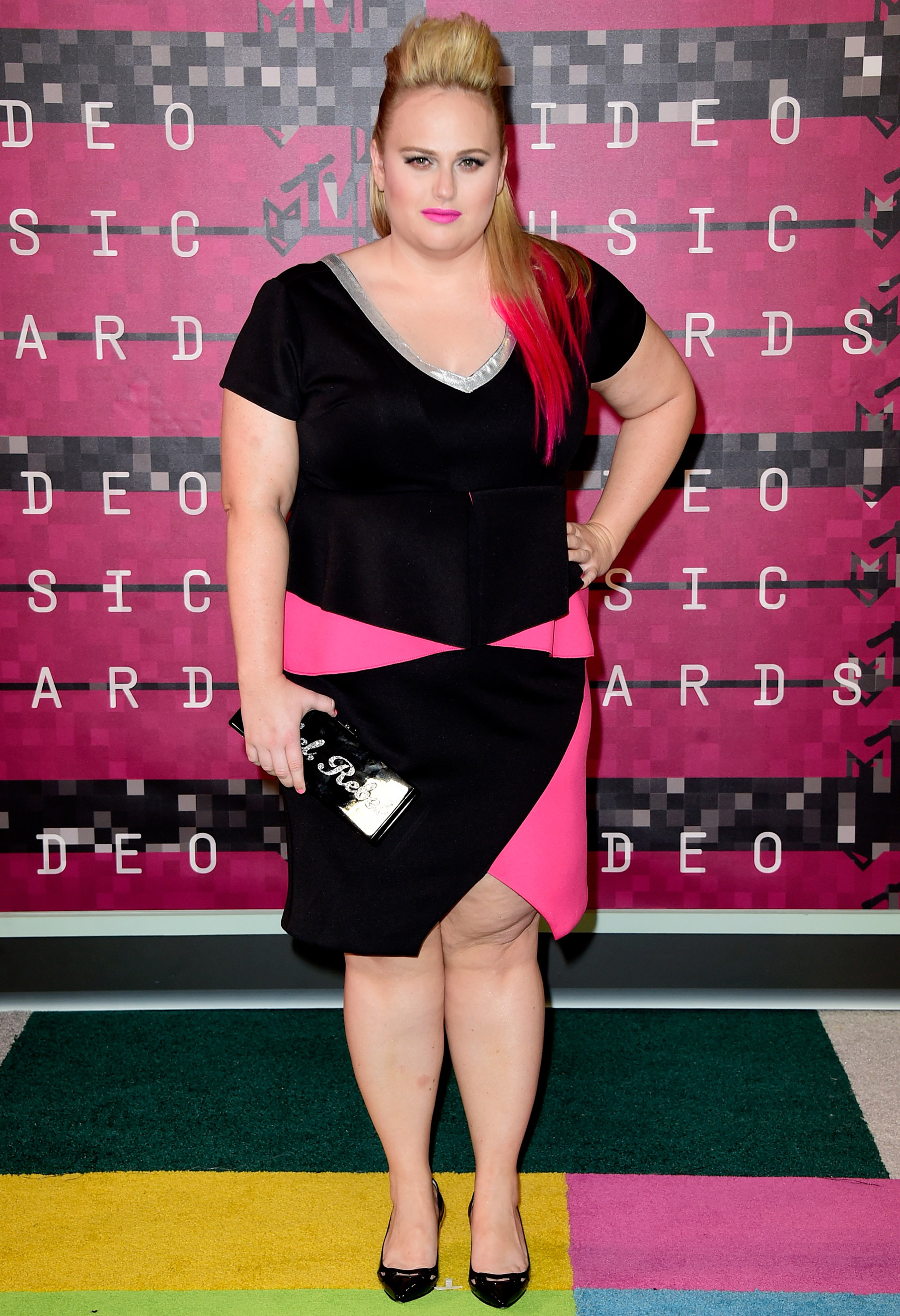 Rebel Wilson arrives at the 2015 MTV Video Music Awards at Microsoft Theater on Aug. 30, 2015 in Los Angeles.