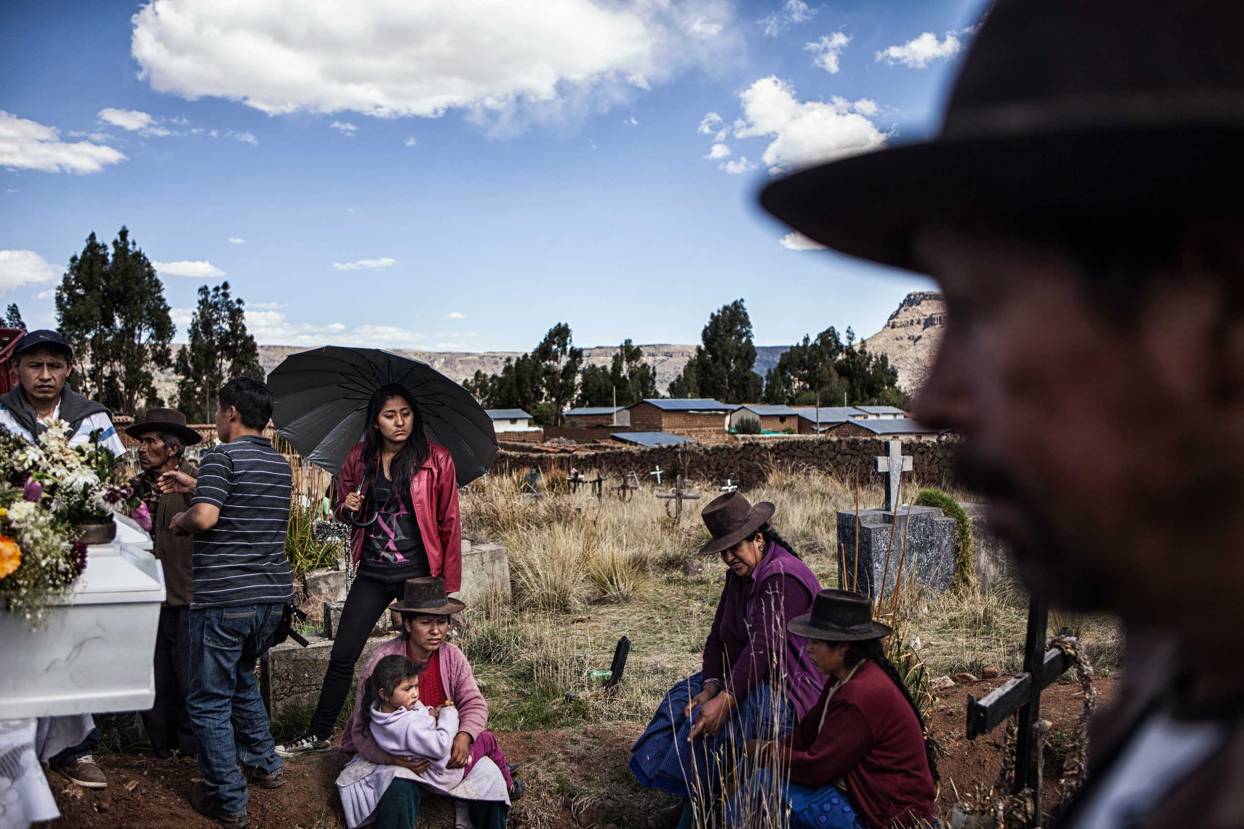 Al Jazeera: Peru: Searching for the missing decades after warLibia's children traveled from as far away as  Lima to take part in their father' s  funeral at a mass burial in Huancasancos.