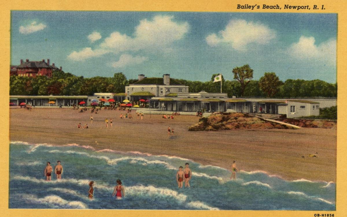 ca. 1940, Newport, R.I., postcard
