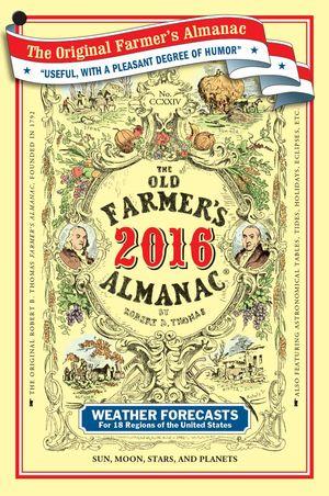 Cover of Old Farmer's Almanac, 2016