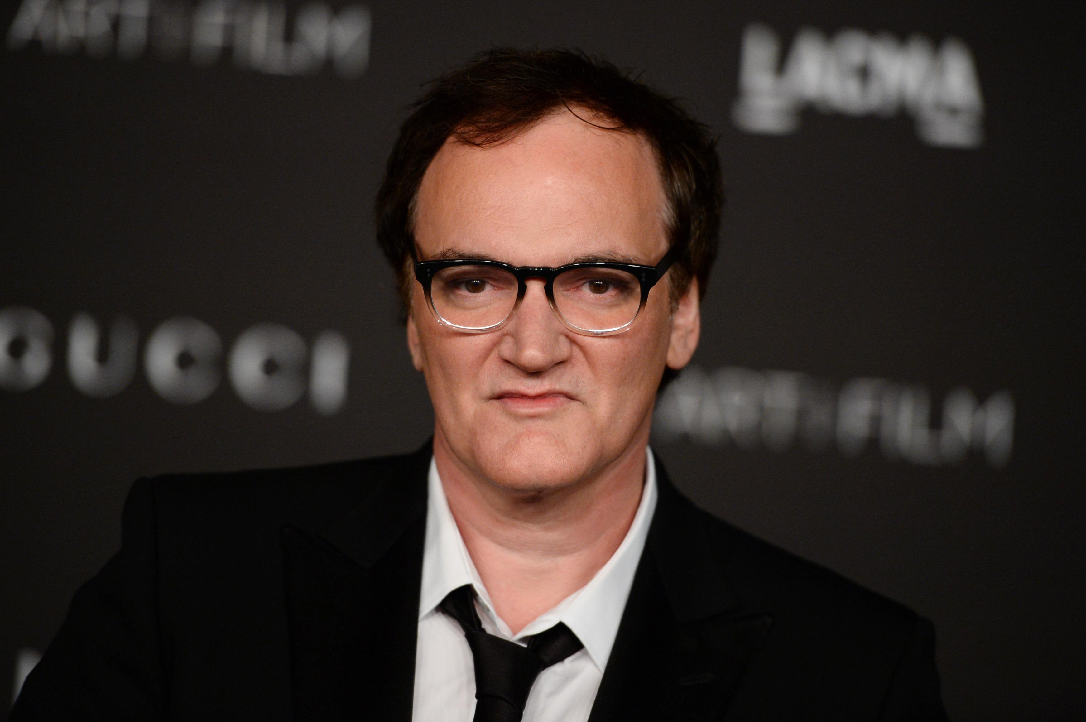 Quentin Tarantino at the LACMA Art + Film Gala in Los Angeles on Nov. 1, 2014.