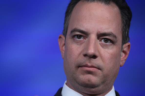 Repubican National Committee Chairman Reince Priebus pauses as he speaks during the 2015 Southern Republican Leadership Conference May 21, 2015 in Oklahoma City, Oklahoma.