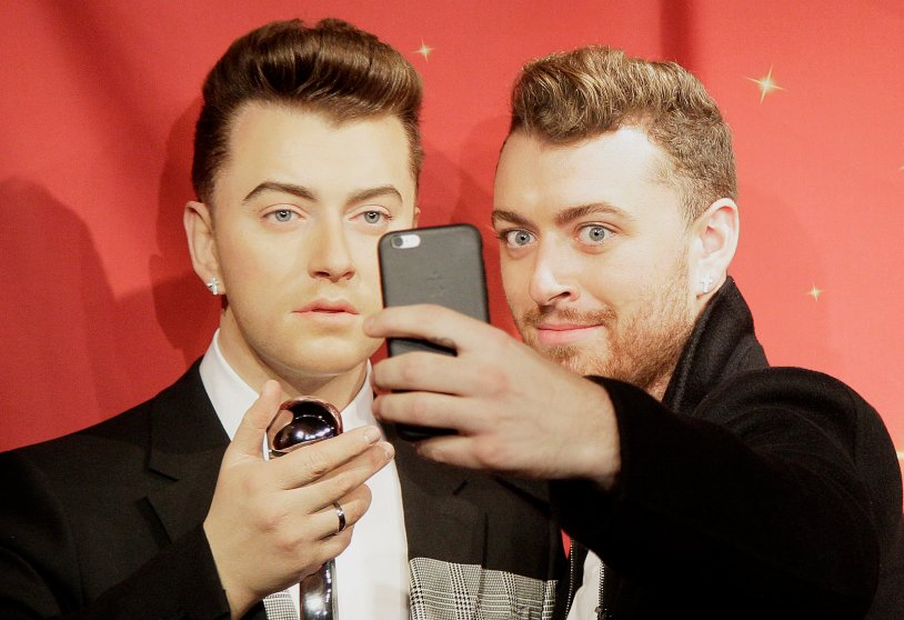 Sam Smith madame tussauds wax