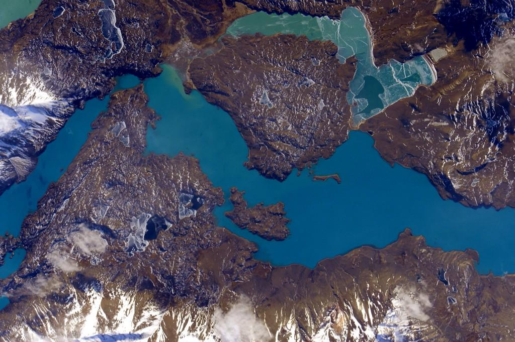 #EarthArt Perfectly Patagonia and wall worthy. #YearInSpace  - via Twitter on Aug. 12, 2015