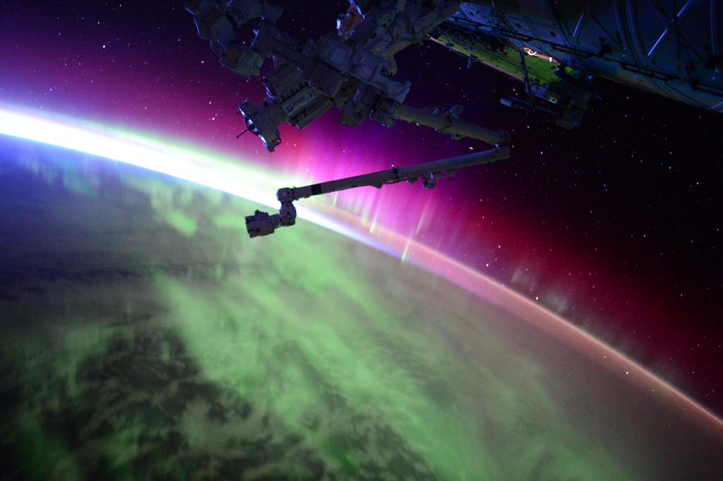 Another pass through #Aurora. The sun is very active today, apparently. #YearInSpace  - via Twitter on Aug. 15, 2015