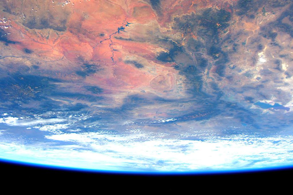 .@katiecouric Great to talk w you re my #YearInSpace! SRY for comm loss. Wouldn't occur on Earth, but nor would this.  - via Twitter on Aug. 19, 2015