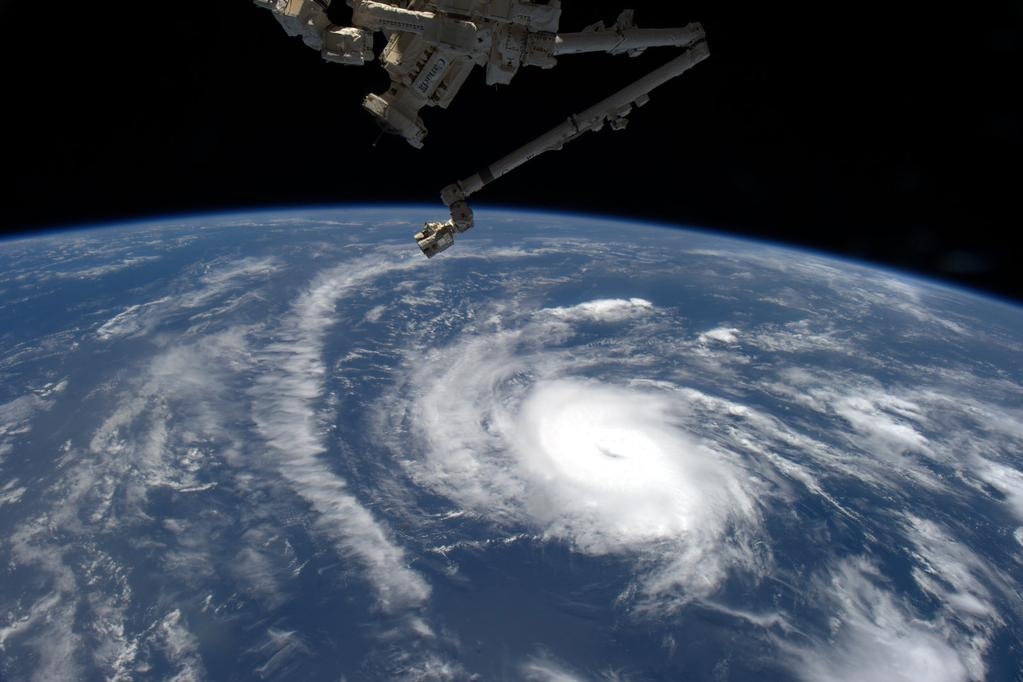 #HurricaneDanny Keeping an eye on you from @space_station. Looks like you're 1st in Atlantic. Stay safe! #YearInSpace  - via Twitter on Aug. 20, 2015
