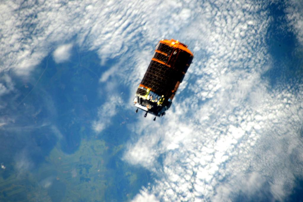 Fresh supplies on the way! #HTV5 #YearInSpace  - via Twitter on Aug. 24, 2015