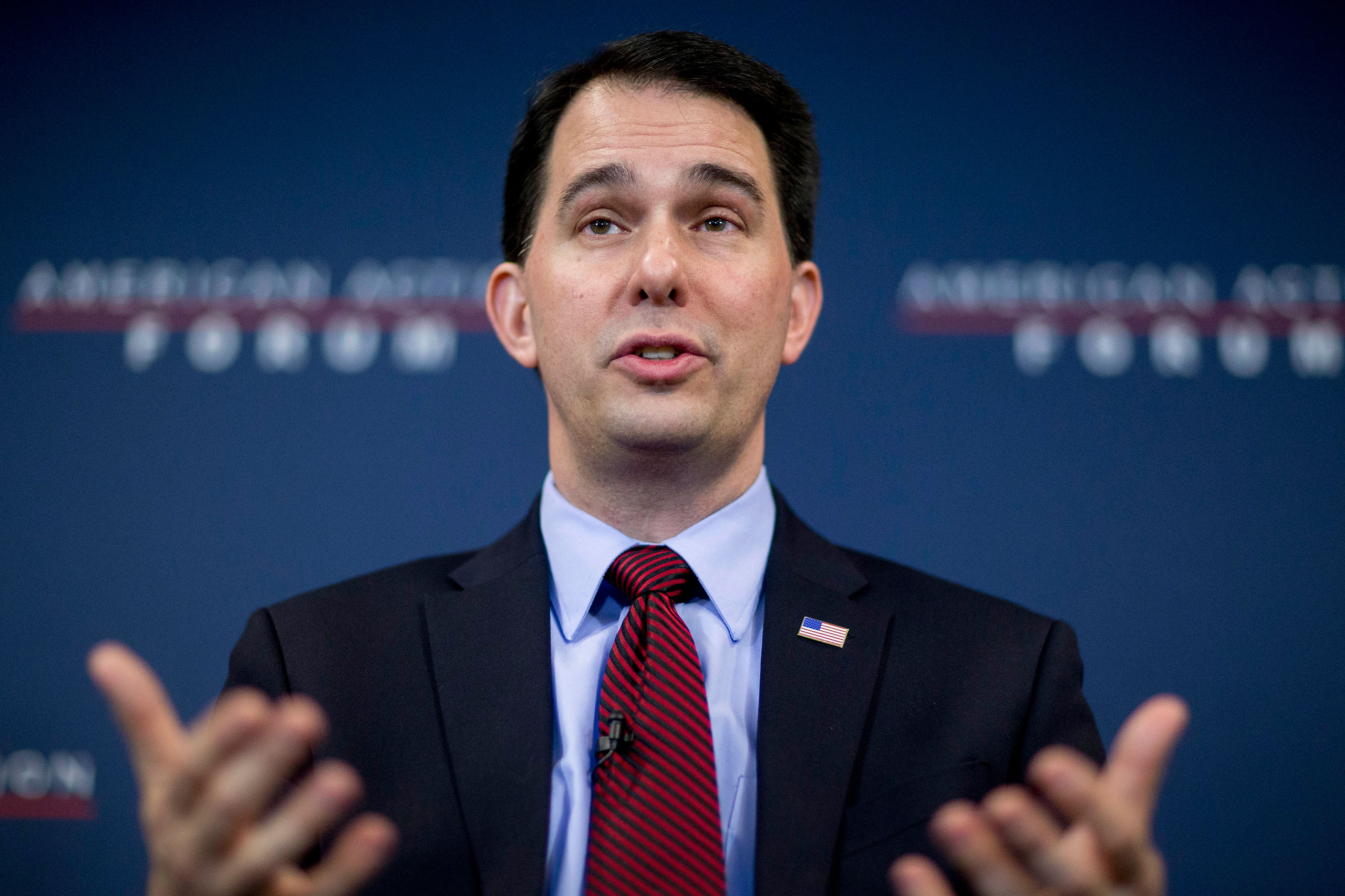 Wisconsin Governor Scott Walker Delivers Keynote At The American Action Forum