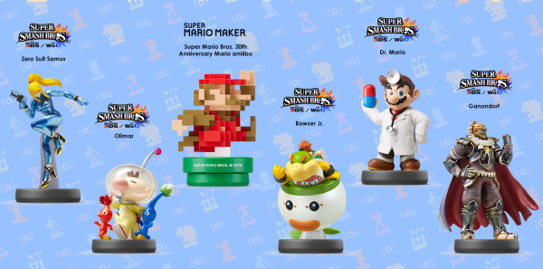 Amiibo Nintendo Announces New Mario Figure And More Time