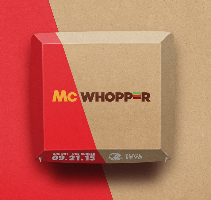 McWhopper Concept Packaging
