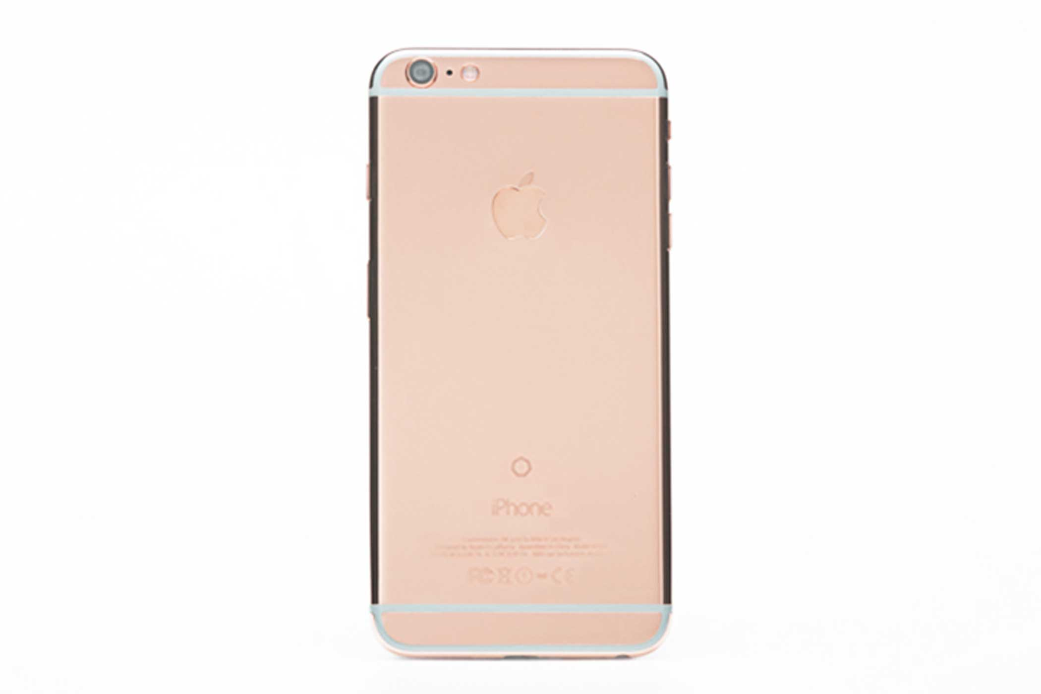 The cheapest device in Brikk's new line is the Lux iPhone 6s Pink Gold with a 4.7  screen, which costs                               $7,995. The yellow gold version at the same price is also available.