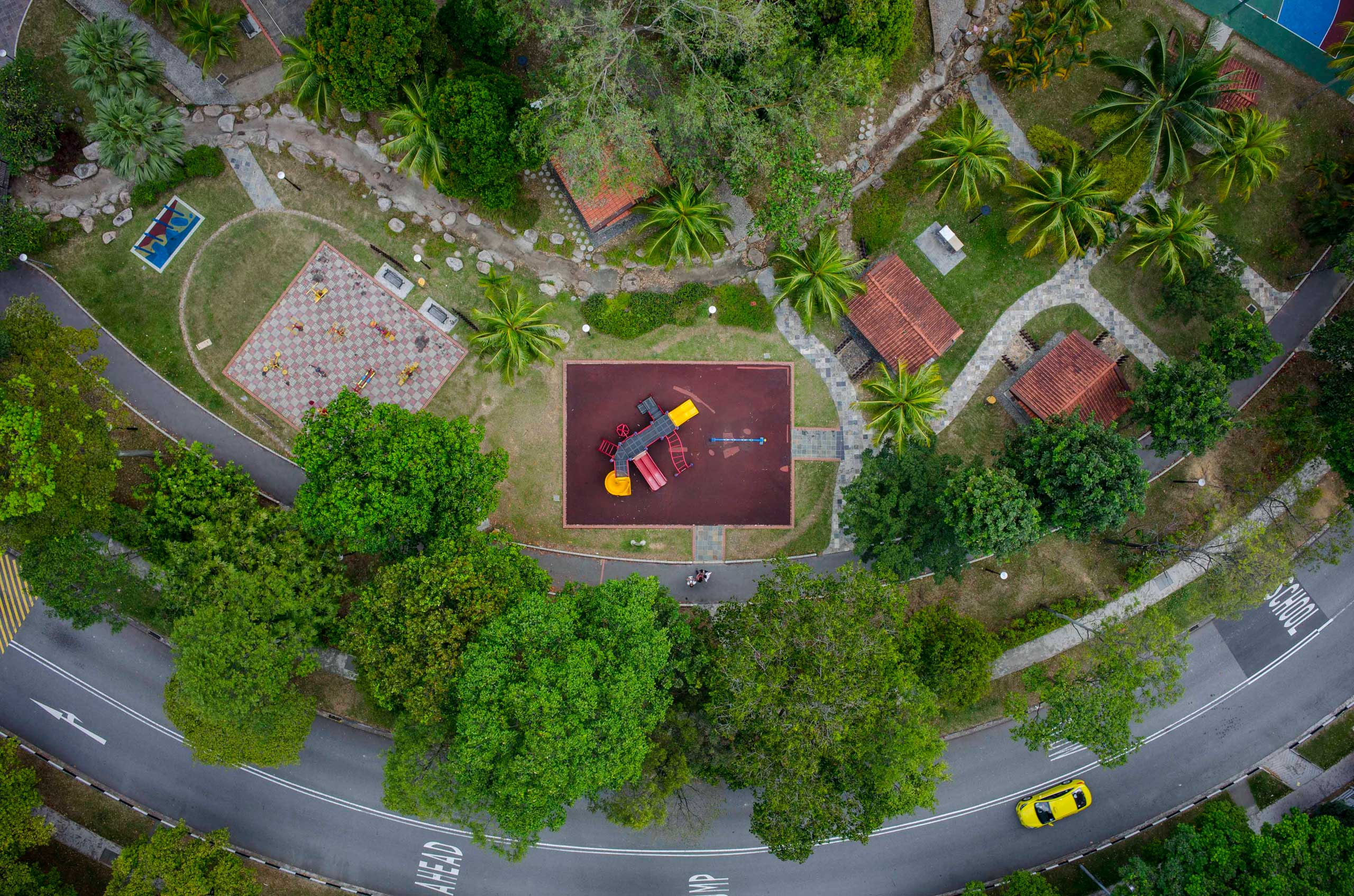 National Geographic Proof: The Delightfulness of Playgrounds, as Seen From AboveStagmont Park (785 Choa Chu Kang Drive)