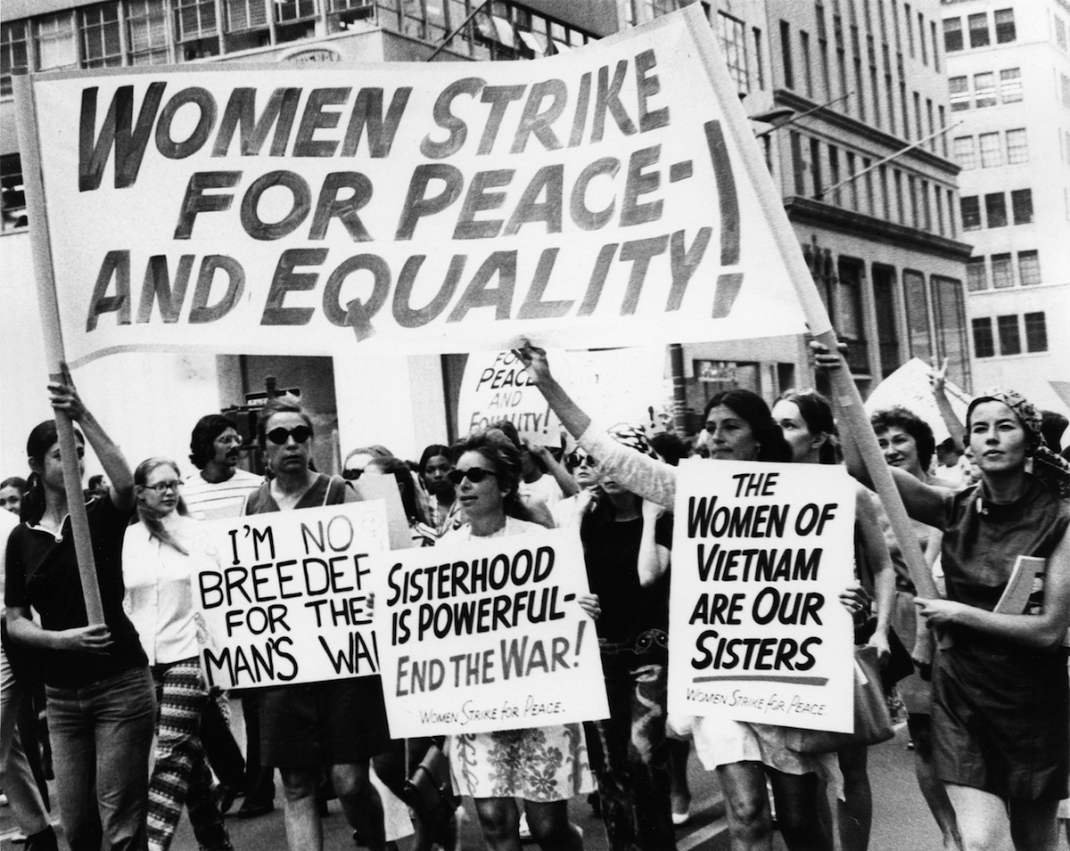 Women's Strike for Peace and Equality, New York City, Aug. 26, 1970.