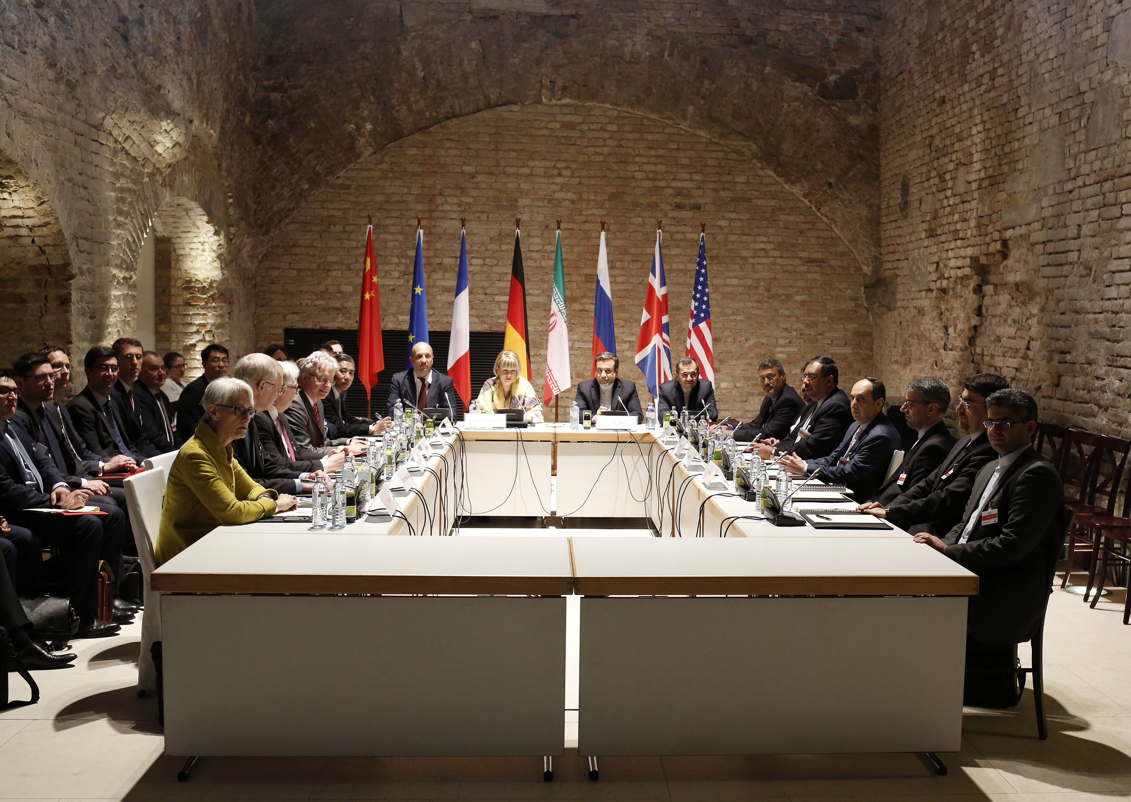 Representatives of Iran and six major powers meet in Vienna, Austria in April 24, 2015, seeking to finalise by June 30, a historic deal curbing Iran´s nuclear programme.